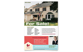 Home Real Estate - Flyer Template