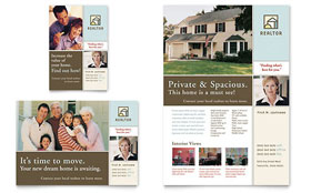 House for Sale Real Estate - Flyer Sample Template