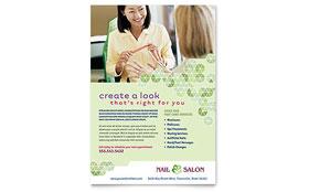Nail Salon - Flyer Template