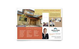 Realtor & Real Estate Agency - Flyer Template