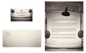 Photography Studio - Letterhead Sample Template