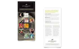 Photography Studio - Rack Card Template Design Sample