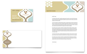 Wedding Store & Supplies - Business Card & Letterhead