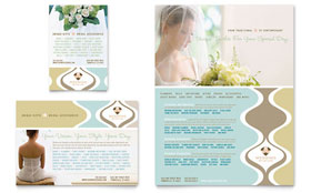 Wedding Store & Supplies - Flyer & Ad Template