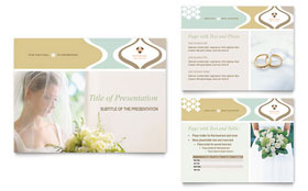 Wedding Store & Supplies - Microsoft PowerPoint Template