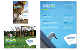 Car Cleaning - Leaflet Template