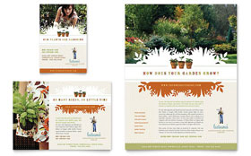 Landscape & Garden Store - Flyer & Ad Template Design Sample