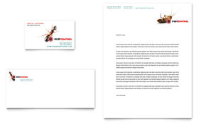 Pest Control Services - Business Card & Letterhead Template