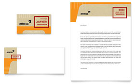 Movers & Moving Company - Business Card & Letterhead Template