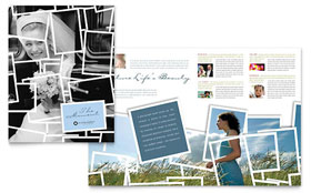 Photographer - Brochure Template Design Sample