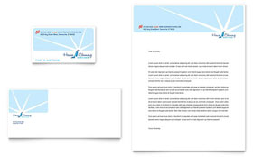 House Cleaning & Housekeeping - Business Card & Letterhead