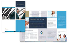 Small Business Consulting - Adobe InDesign Brochure Template