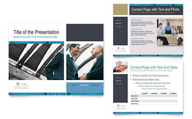 Small Business Consulting - PowerPoint Presentation Template Design Sample