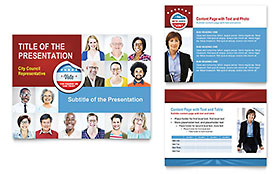 Political Candidate - PowerPoint Presentation Template