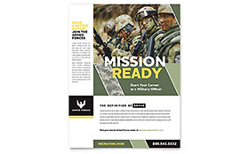 Military Recruiting - Flyer Template