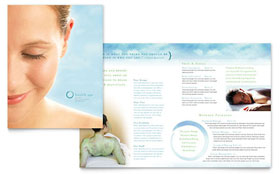 Day Spa & Resort - Microsoft Word Brochure Template