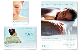 Day Spa & Resort - Leaflet Template
