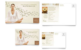Naturopathic Medicine - Postcard Sample Template