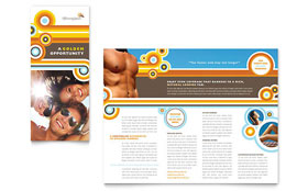 Tanning Salon - Adobe InDesign Brochure Template