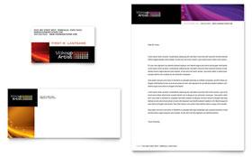 Makeup Artist - Business Card & Letterhead Template