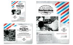 Barbershop - Print Ad Sample Template