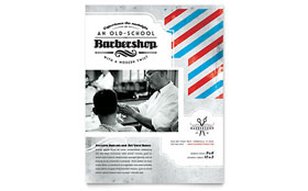 Barbershop - Flyer Template