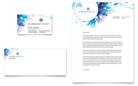 Cosmetology - Business Card Sample Template