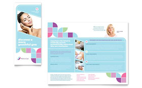 Medical Spa - Adobe Illustrator Brochure Template