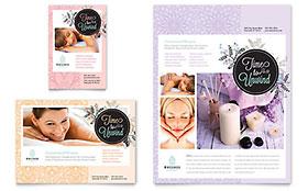 Massage - Leaflet Template