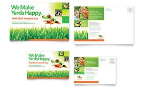 Lawn Maintenance - Postcard Sample Template