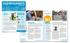 Home Inspection & Inspector - Newsletter Template