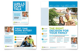 Home Inspection & Inspector - Flyer & Ad Template Design Sample