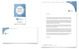 Carpet Cleaners - Business Card & Letterhead Template Design Sample