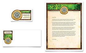 Tree Service - Business Card & Letterhead