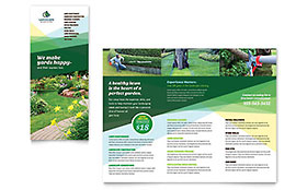 Landscaper - Apple iWork Pages Brochure Template