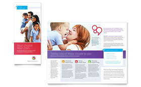 Medical Insurance - Microsoft Publisher Brochure Template