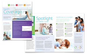Medical Insurance - Newsletter Sample Template
