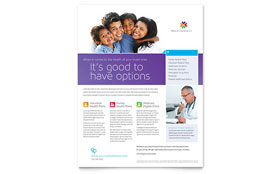 Medical Insurance - Flyer Template