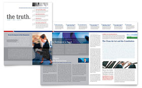 Legal & Government Services - Newsletter Template