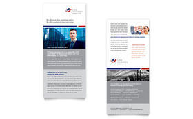 Legal & Government Services - Rack Card Template Design Sample