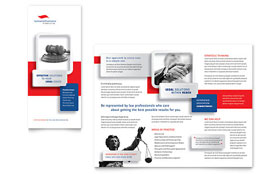 Justice Legal Services - Tri Fold Brochure