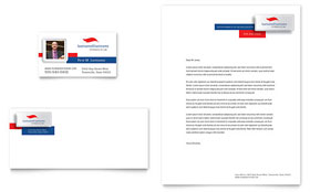 Justice Legal Services - Business Card & Letterhead Template