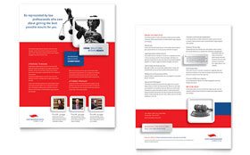 Justice Legal Services - Datasheet Template