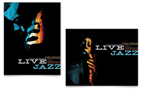 Jazz Music Event - Poster Template