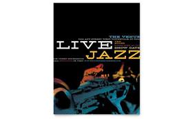 Jazz Music Event - Flyer Template