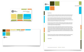 Arts Council & Education - Business Card & Letterhead Template Design Sample