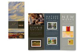 Art Gallery & Artist - Brochure Sample Template