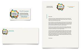 Writer's Workshop - Business Card & Letterhead Template
