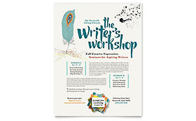 Writer's Workshop - Flyer Template