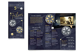 Film Festival - Apple iWork Pages Brochure Template